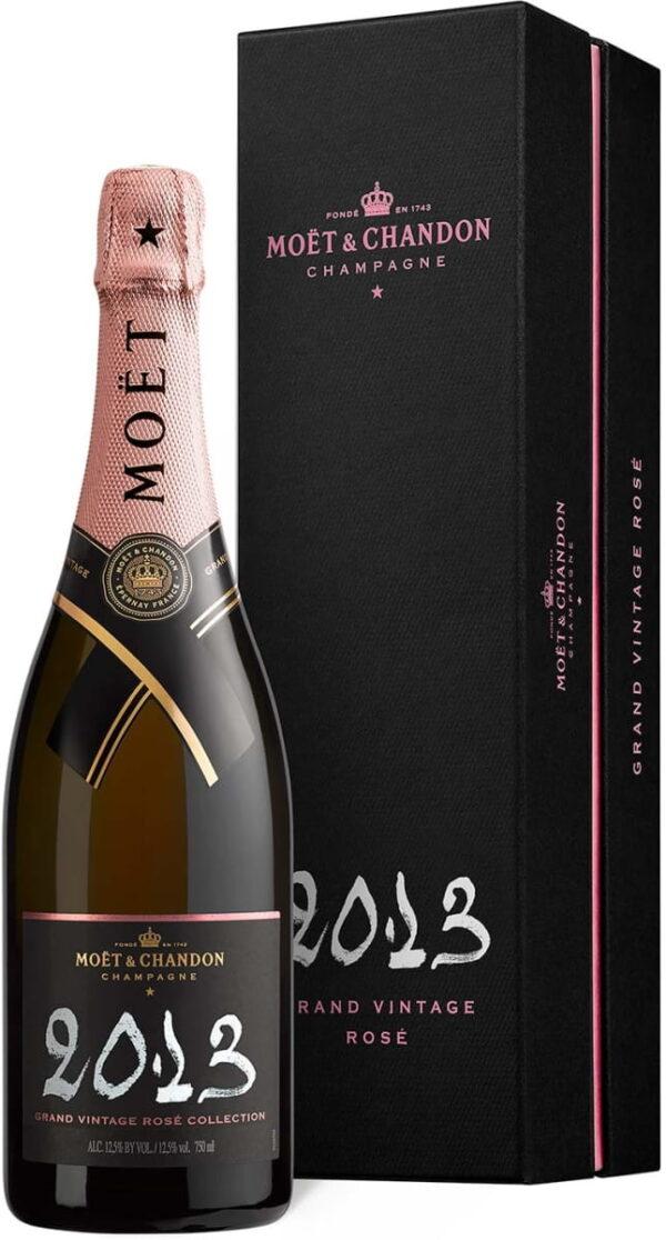 Szampan Moët Chandon Grand Vintage Rosé 2013 w kartoniku 0,75L