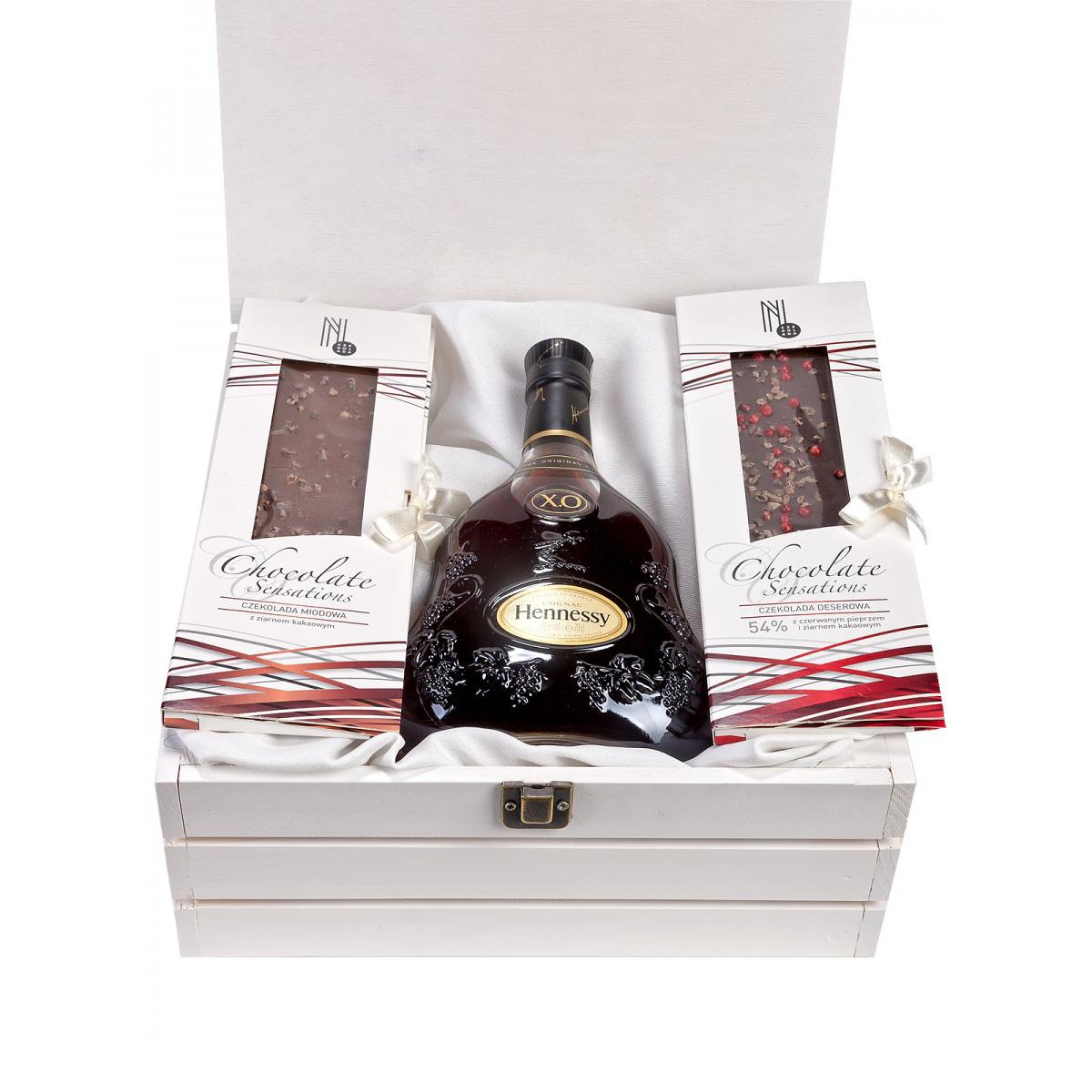 Zestaw prezentowy Hennessy X.O
