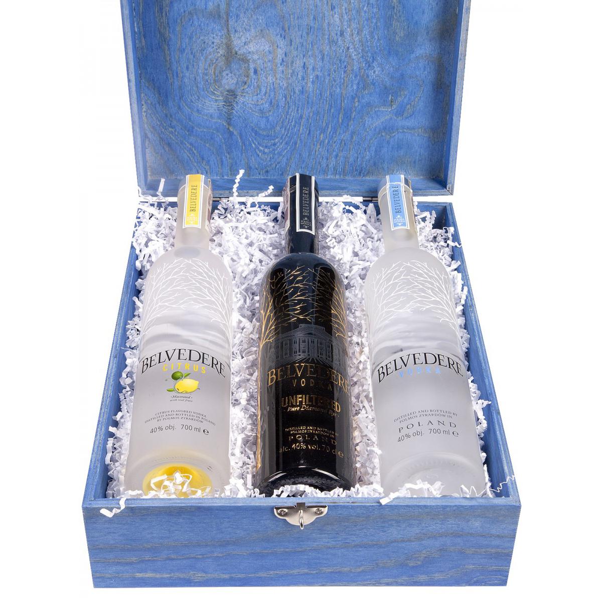 Zestaw prezentowy wódki Belvedere 1