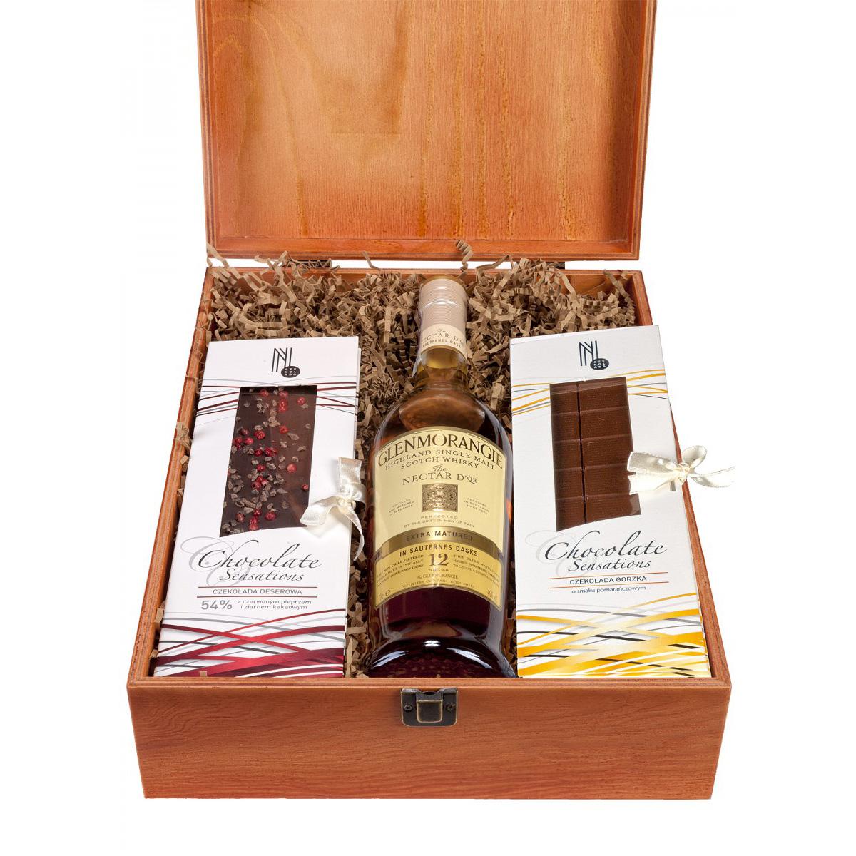 Zestaw prezentowy dla Panów Glenmorangie Nectar D'Or