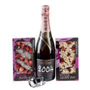 Zestaw prezentowy dla Pań Moët & Chandon Grand Vintage Rosé