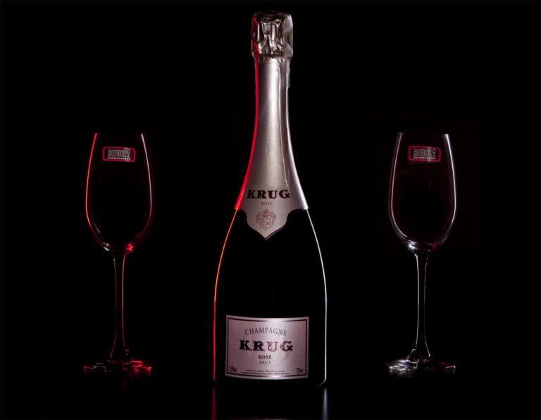 Zestaw prezentowy luksusowy - Krug Rosé