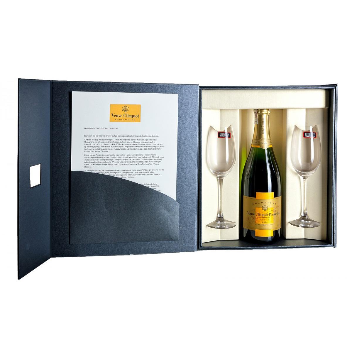 Zestaw prezentowy luksusowy - Veuve Clicquot Vintage 2008