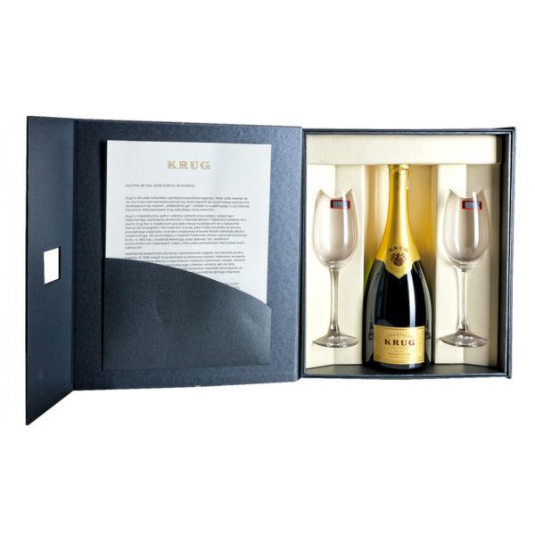 Zestaw prezentowy luksusowy - Krug Grande Cuvée