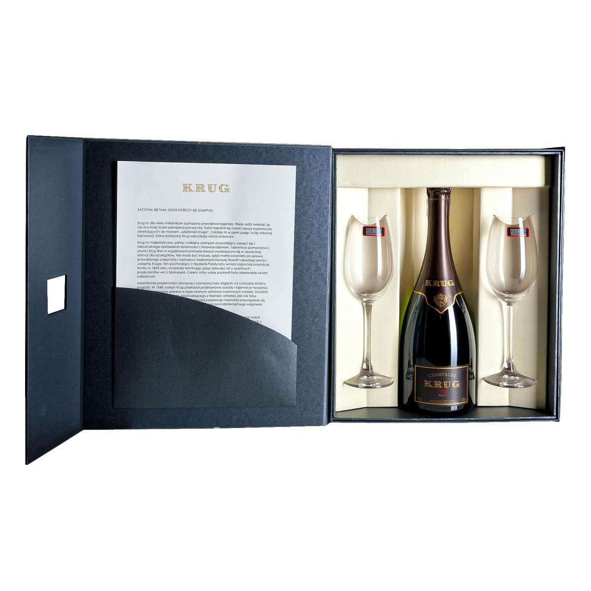 Zestaw prezentowy luksusowy - Krug Vintage 2004