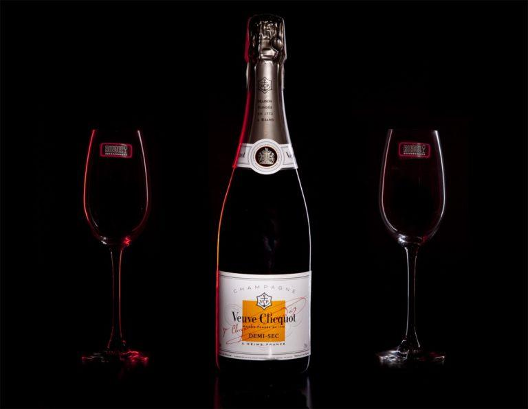 Zestaw prezentowy luksusowy - Veuve Clicquot Demi-Sec