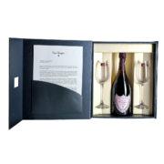 Zestaw prezentowy luksusowy - Dom Perignon Rosé Vintage 2005