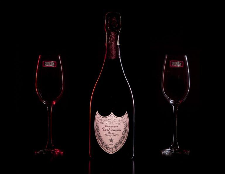 Zestaw prezentowy luksusowy - Dom Perignon Rosé Vintage 2006
