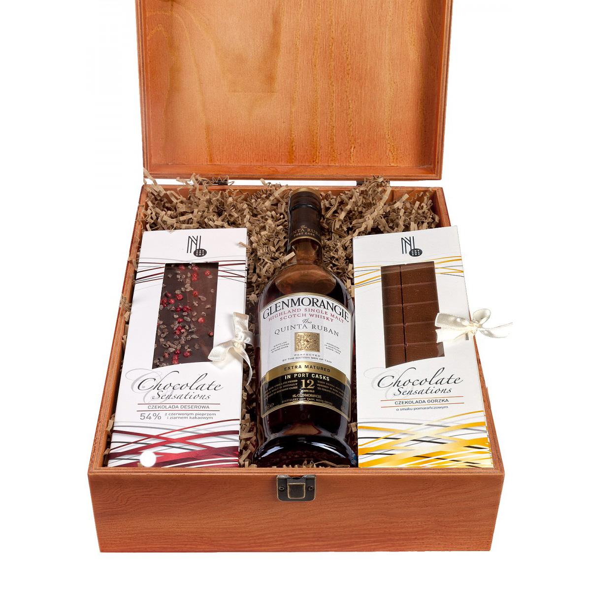 Zestaw prezentowy dla Panów Glenmorangie Quinta Ruban