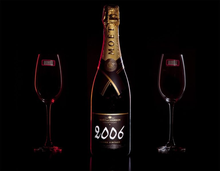 Zestaw prezentowy luksusowy - Moët & Chandon Grand Vintage 2012