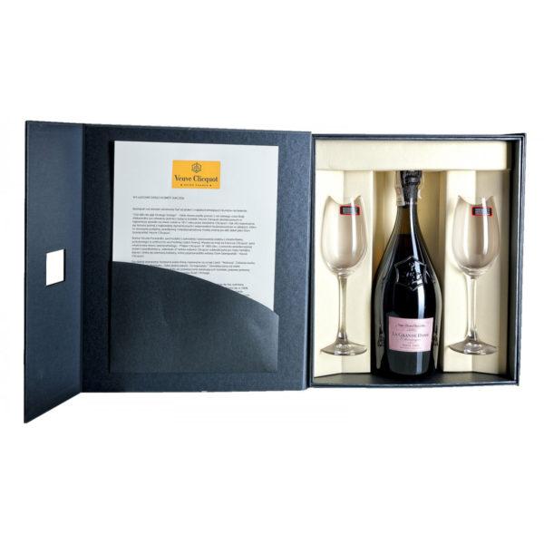 Zestaw prezentowy luksusowy - Veuve Clicquot La Grande Dame Rosé 2006