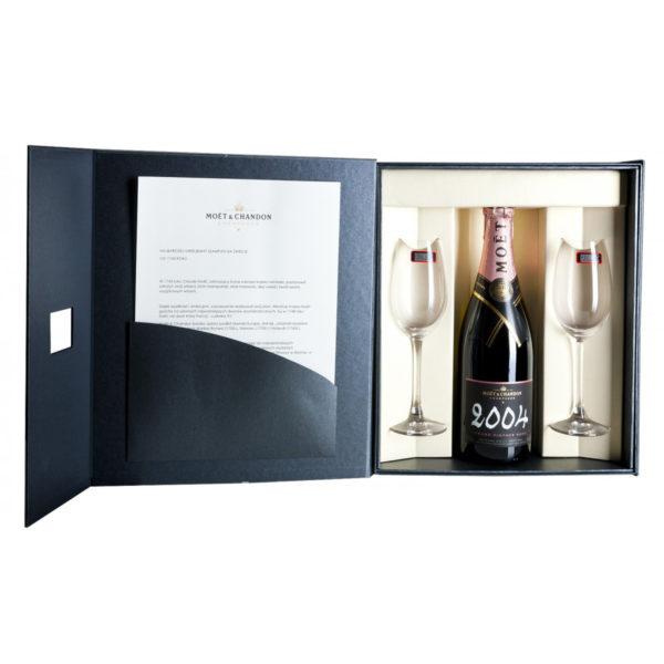 Zestaw prezentowy luksusowy - Moët & Chandon Grand Vintage Rosé 2012