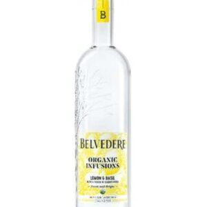 Wódka Belvedere Organic Infusions Lemon & Basil 40% 0,70L NOWOŚĆ! EDYCJA LIMITOWANA!