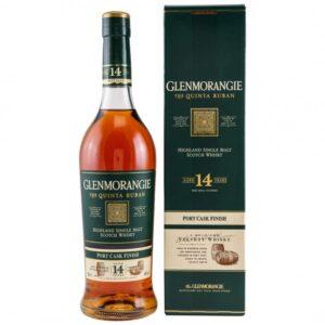 Whisky Glenmorangie Quinta Ruban 14 Y.O. 46% w kartoniku 0,7l