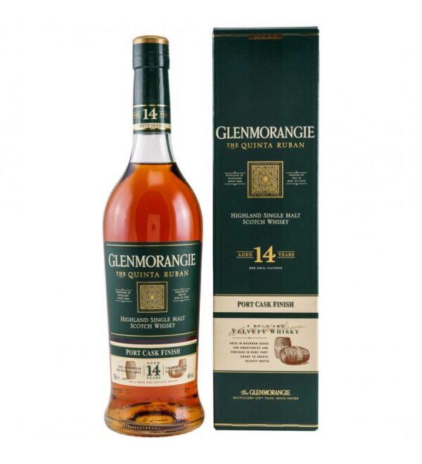 Glenmorangie Quinta Ruban 14 Y.O. w kartoniku 0,7L