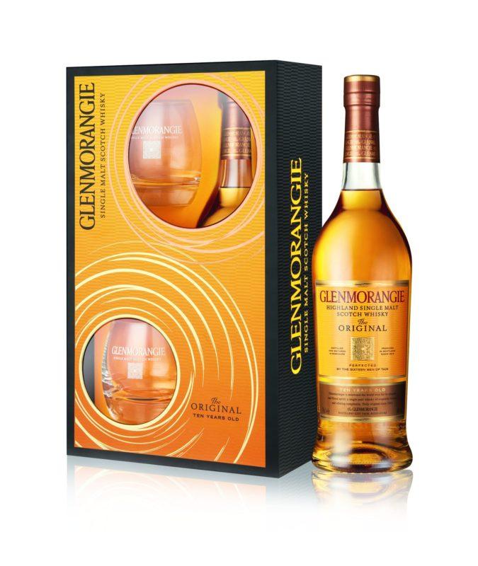 Glenmorangie The Original 10 Y.O. + 2 szklanki