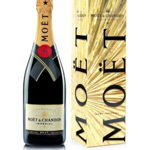 Moët & Chandon Imperial w kartoniku EOY Festive Gift Box