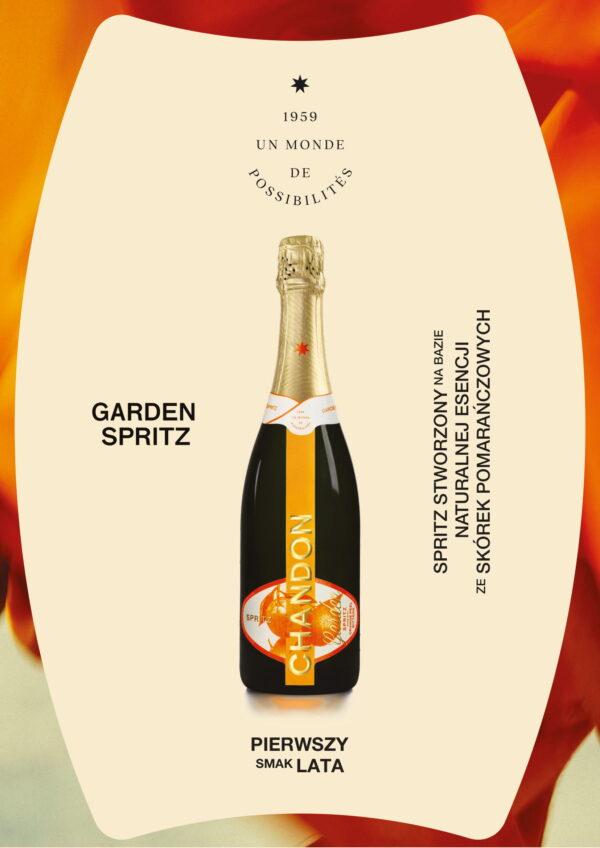 NOWOŚĆ! Chandon Garden Spritz 0,75L 100% naturalny