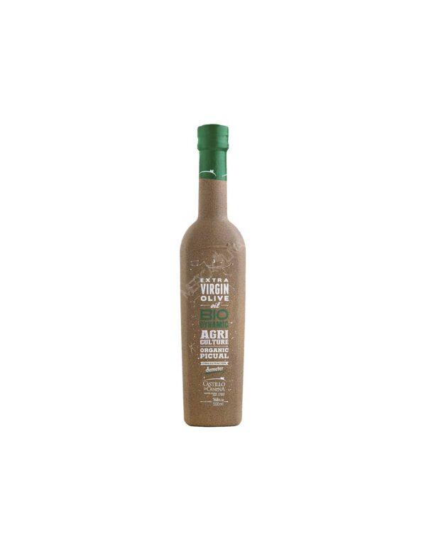 Oliwa z oliwek biodynamiczna organiczna Castillo de Canena PICUAL 0,5 ltr