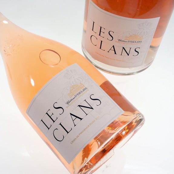 LES CLANS Rose 2018 0,75L
