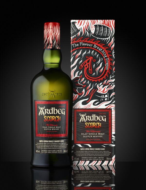 Whisky Ardbeg Scorch w kartoniku 0,7L EDYCJA LIMITOWANA!