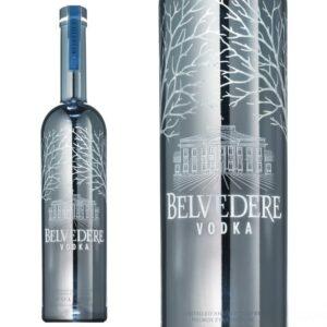 Belvedere Bespoke Silver 1,75 ltr limitowana edycja PODŚWIETLANA IDEALNA DO GRAWEROWANIA!