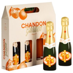 NOWOŚĆ! Chandon Garden Spritz wino musujące 187ml 100% naturalne Picnic Pack 4 szt.!