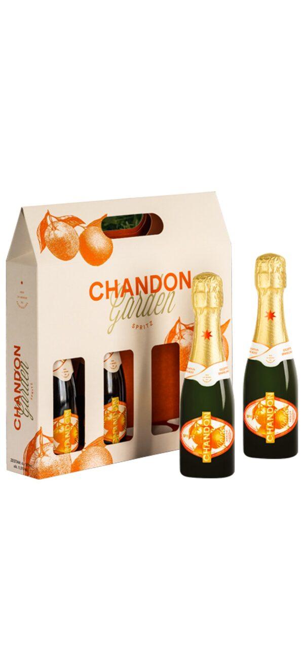 Chandon Garden Spritz wino musujące 187ml 100% naturalne Picnic Pack 4 szt.!