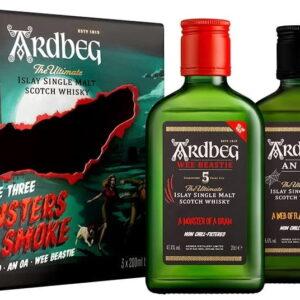 Whisky Ardbeg Monster Pack 3 x 0,2l w kartoniku NOWOŚĆ! EDYCJA LIMITOWANA!
