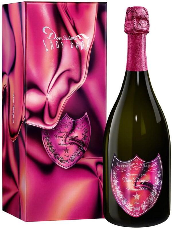 Szampan Dom Perignon Rose 2006 Vintage Lady Gaga 12,5% w kartoniku 0,75L EDYCJA LIMITOWANA! NOWOŚĆ!