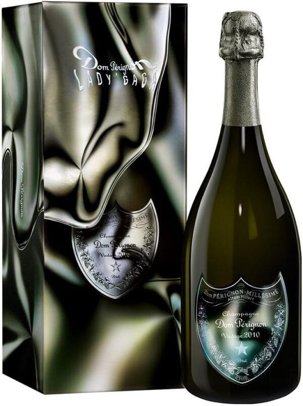 Szampan Dom Perignon Blanc 2010 Vintage Lady Gaga 12,5% w kartoniku 0,75L EDYCJA LIMITOWANA! NOWOŚĆ!