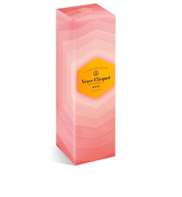 Szampan Veuve Clicquot ROSÉ PREMIUM RETRO GIFT BOX 0,75l EDYCJA LIMITOWANA!